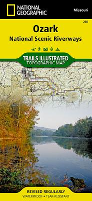 Ozark National Scenic Riverways (National Geographic Trails Illustrated Map #260) Cover Image