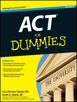 ACT for Dummies Cover