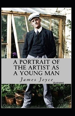 A Portrait of the Artist As a Young Man Illustrated Cover Image