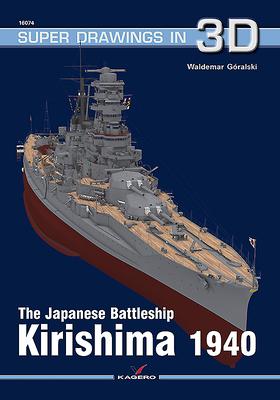 The Japanese Battleship Kirishima 1940 (Super Drawings in 3D #1607) Cover Image