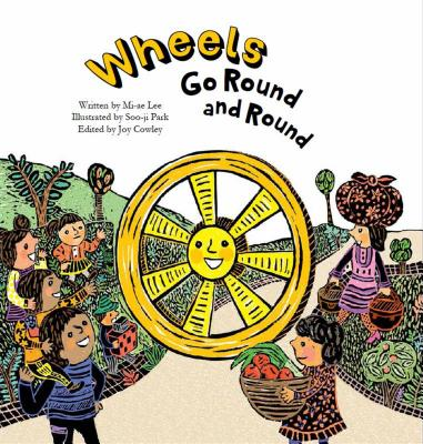 Wheels Go Round and Round: Simple Machines-Wheels (Science Storybooks) Cover Image