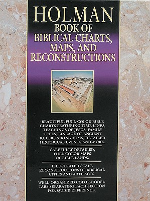 Book of Biblical Charts, Maps, and Reconstructions Cover
