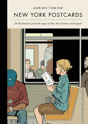 New York Postcards: 30 Illustrations from the Pages of The New Yorker and Beyond Cover Image