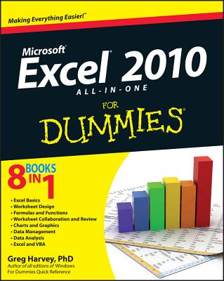 Excel 2010 All-In-One for Dummies Cover Image