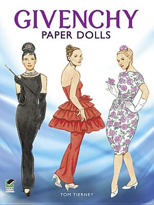 Givenchy Paper Dolls (Dover Paper Dolls) Cover Image