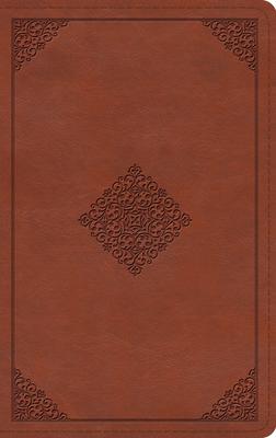 ESV Thinline Bible (Trutone, Terracotta, Ornament Design) Cover Image
