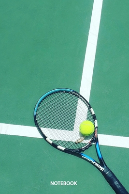 Notebook: Tennis (Sports #31) Cover Image