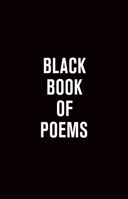 Black Book of Poems Cover Image