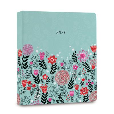2021 Dinara's Folk Floral in Mint Cover Image