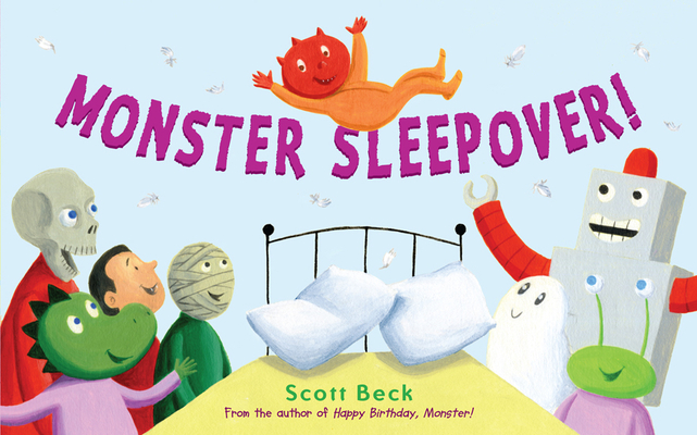 Monster Sleepover! Cover