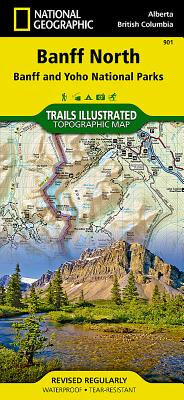 Banff North [Banff and Yoho National Parks] (National Geographic Trails Illustrated Map #901) Cover Image
