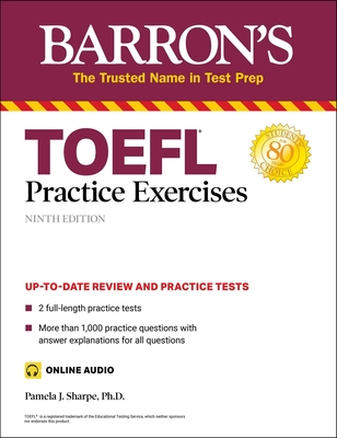TOEFL Practice Exercises (Barron's Test Prep) Cover Image