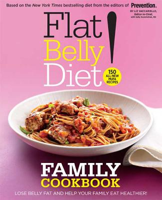 Flat Belly Diet! Family Cookbook Cover