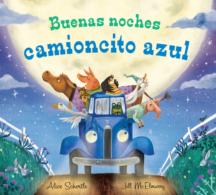 Buenas noches camioncito azul (Little Blue Truck) Cover Image