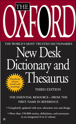 The Oxford American Desk Dictionary and Thesaurus, Third Edition Cover Image