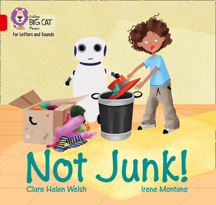 Not Junk!: Band 2A/Red A (Collins Big Cat Phonics for Letters and Sounds) Cover Image