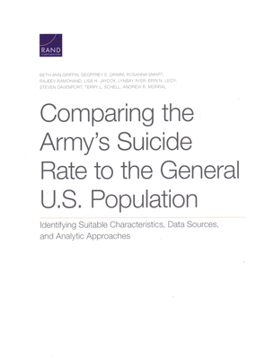Comparing the Army's Suicide Rate to the General U.S. Population: Identifying Suitable Characteristics, Data Sources, and Analytic Approaches Cover Image