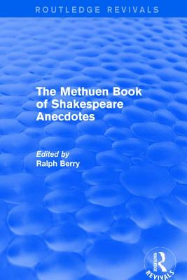 The Methuen Book of Shakespeare Anecdotes Cover Image