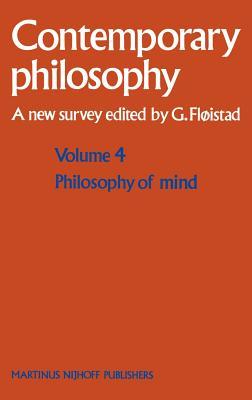 Cover for Philosophy of Mind/Philosophie de l'Esprit (Contemporary Philosophy