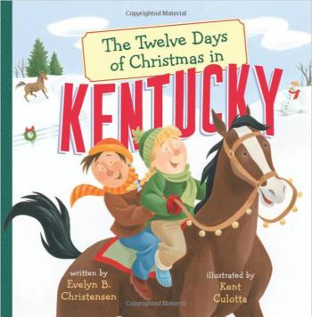 The Twelve Days of Christmas in Kentucky Cover