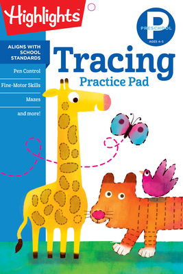 Preschool Tracing (Highlights Learn on the Go Practice Pads) Cover Image