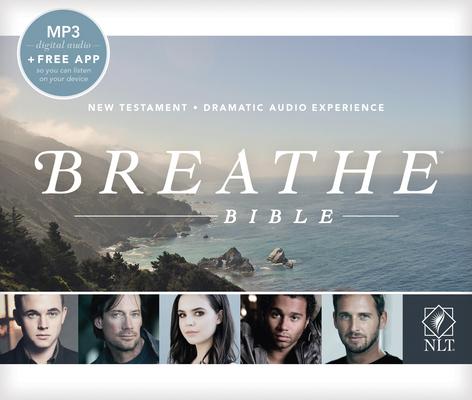 Breathe Bible Audio New Testament NLT, MP3 Cover Image