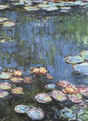 Monet Water Lilies Notebook (Decorative Notebooks) Cover Image