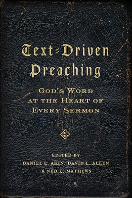 Text-Driven Preaching Cover