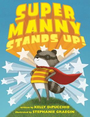 Super Manny Stands Up! Cover Image