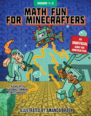 Math Fun for Minecrafters: Grades 1–2 (Math for Minecrafters) Cover Image