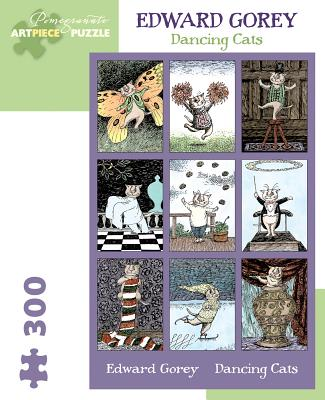 Edward Gorey: Dancing Cats 300-Piece Jigsaw Puzzle Cover Image