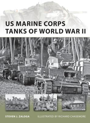US Marine Corps Tanks of World War II Cover