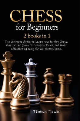Chess for Beginners 2 Books in 1 Cover Image