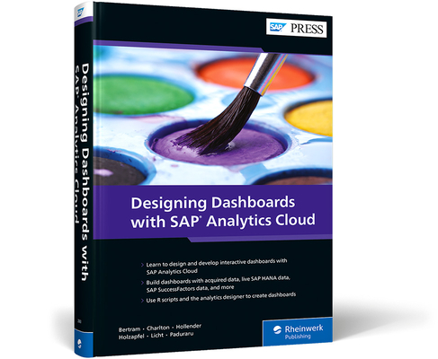 Designing Dashboards with SAP Analytics Cloud Cover Image