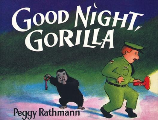 Good Night, Gorilla (oversized board book) Cover Image