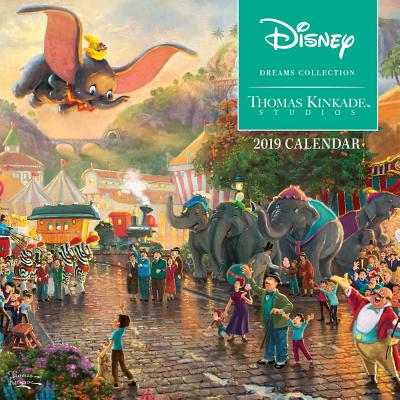 Thomas Kinkade Studios: Disney Dreams Collection 2019 Mini Wall Calendar Cover Image