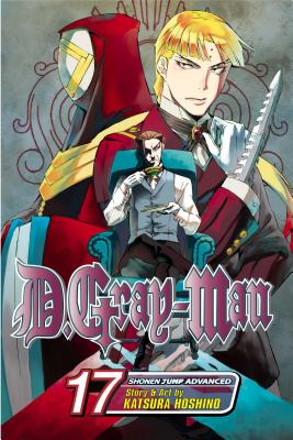 D.Gray-Man, Volume 17 Cover