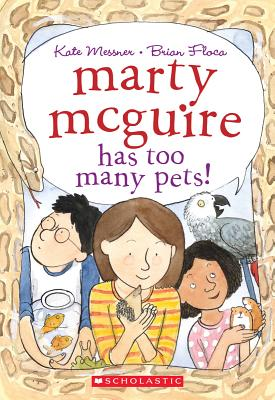 Marty McGuire Has Too Many Pets! Cover
