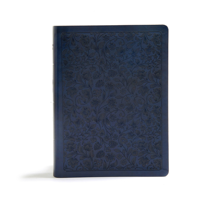 Cover for CSB Life Connections Study Bible, Navy LeatherTouch, Indexed