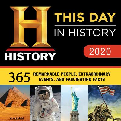 2020 History Channel This Day in History Boxed Calendar: 365 Remarkable People, Extraordinary Events, and Fascinating Facts Cover Image