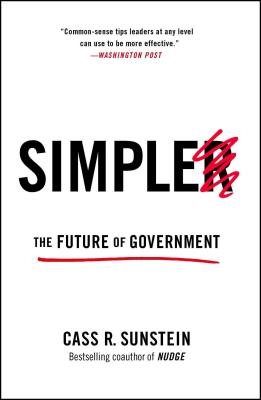 Simpler: The Future of Government Cover Image