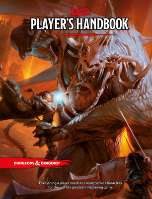 Dungeons & Dragons Player's Handbook (Core Rulebook, D&D Roleplaying Game) Cover Image