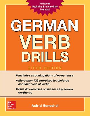 German Verb Drills, Fifth Edition Cover Image