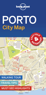 Lonely Planet Porto City Map 1 Cover Image