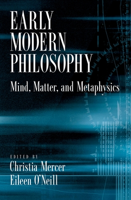 Early Modern Philosophy Cover