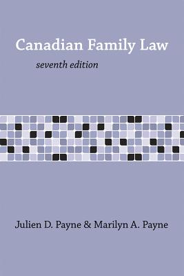 Canadian Family Law 7/E Cover Image