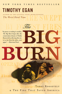 The Big Burn: Teddy Roosevelt and the Fire that Saved America Cover Image