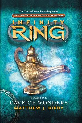 Infinity Ring Book 5: Cave of Wonders - Library Edition Cover Image