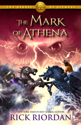 The Heroes of Olympus - Book Three The Mark of Athena Cover Image