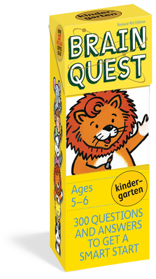 Brain Quest Kindergarten Q&A Cards: 300 Questions and Answers to Get a Smart Start. Curriculum-based! Teacher-approved! (Brain Quest Decks) Cover Image